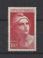 FRANCE.  YT   N° 733  Neuf **  1945  (voir Scan) - 1945-54 Marianna Di Gandon