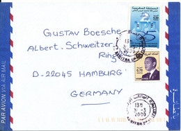 Morocco Air Mail Cover Sent To Germany 31-3-2000 - Marokko (1956-...)