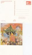 DPP 18/26 X. Kunstausstellung Der DDR - Car Marx -  Neptun Und Ägypterin - Postales Privados - Nuevos