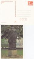 DPP 19/23  X. Kunstausstellung Der DDR - Peter Dittrich - Wieland Förster - Großer Trauernder Mann - Postales Privados - Nuevos