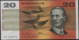 Australia $20 Paper Money Banknote - Moneta Locale
