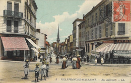 Villefranche-sur-Saône - Rue Nationale - Villefranche-sur-Saone
