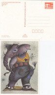 DPP 19/31  X. Kunstausstellung Der DDR - Cleo-Petra Kurze - Elepank - Postales Privados - Nuevos