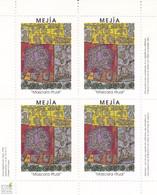 Bloc-Feuillet MEJIA - 4 Vignettes. TB - Blocks Und Markenheftchen