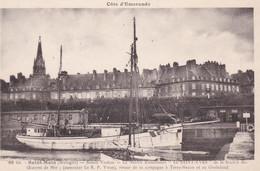 CPA SAINT MALO BASSIN VAUBAN LE NAVIRE D' ASSISTANCE LE SAINT YVES - Saint Malo