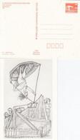 DPP 19/55  X. Kunstausstellung Der DDR - Lothar Sell - Wundertäter - Postales Privados - Nuevos