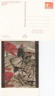 DPP 19/61  X. Kunstausstellung Der DDR - Claus Weidendorfer/Jürgen Haufe . Jazz-Improvisationen - Postales Privados - Nuevos