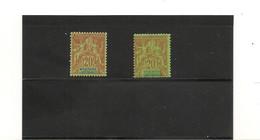 NOUVELLE CALÉDONIE 1892 N° Y/T : 47* Côte: 40,00 € Variation De Teinte - Neufs