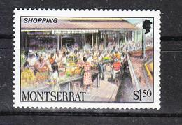 Montserrat - 1986. Mercato. Market.  MNH - Alimentación