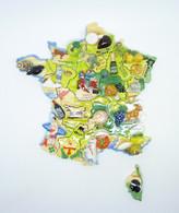Serie Complete De 18 Feves France D Exception 2021 - Regions