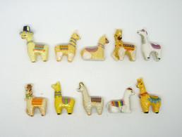 Serie Complete De 10 Feves L Ami Lama 2021 - Animals
