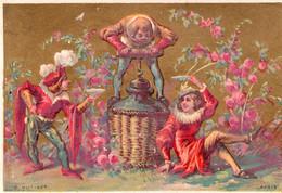 4 CHROMOS 1885 Kurkentrekker Tire-Bouchon Cork-Screw Korkenzieher - Wine