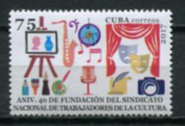 Cuba 2017 / Culture Theatre Music Art Painting Photography MNH Cultura Arte Teatro Pintura Musica / Cu7003  31-7 - Teatro