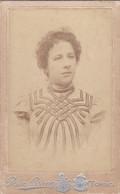 Photo Foto - Formato CDV - Donna Con Abito A Nastrini - Years '1886/'90  - Fotografia Nazionale Bosco & Bricca, Torino - Oud (voor 1900)