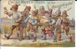 """Cacao Moser-Roth Stuttgart: Sammelkarte """"Die 7 Schwaben Und Der Spiess"""" - Non Classés"""