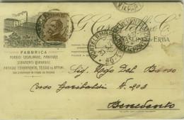 CASLINO D'ERBA ( COMO ) FABBRICA FORBICI CASALINGHE / STRUMENTI CHIRURGICI / FERRAMENTA CART. PUBBLICITARIA 1920s (7110) - Como