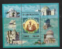 OUZBEKISTAN 2002 SHAHRISABZ  YVERT N°B28 NEUF MNH** - Usbekistan