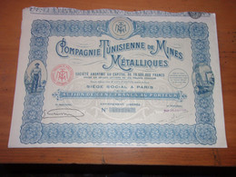 Compagnie Tunisienne De Mines Métalliques - Unclassified