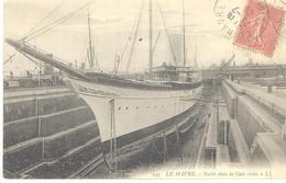Le Havre - Yacht Dans La Cale Sèche - Sonstige