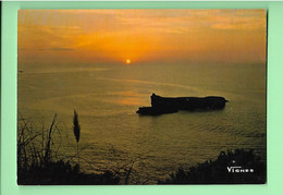 40-----VISAGE DES LANDES--soleil Couchant Sur L'océan---voir 2 Scans - Unclassified