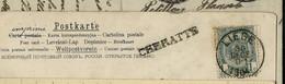 Carte Fantaisie  Obl. LIEGE 30/12/1904  + Griffe De CHERATTE - Sello Lineal