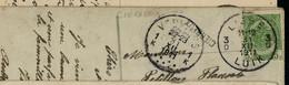Carte Fantaisie  Obl. LIEGE - 3D - Du 31/12/1911 (110 Ans)  + Griffe De CIERREUX - Sello Lineal