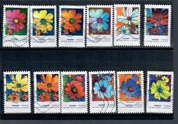 YT AA 1851 A 1862 Serie Complete Cosmos - 2010-.. Matasellados