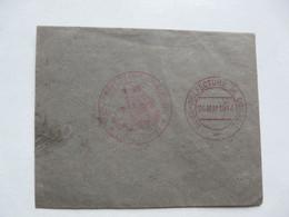ENVELOPPE SOUS PREFECTURE DE CORBEIL 1914 - Décrets & Lois