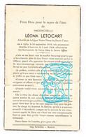 DP Léona Letocart ° Auby-sur-Semois Bertrix 1919 † Leuven 1964 - Imágenes Religiosas