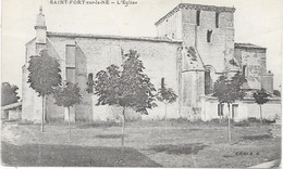16 SAINT FORT SUR LE NE - L'église - Otros Municipios