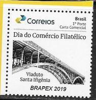 BRAZIL, 2019, MNH,BRIDGES, VIADUCTS, 1v - Bridges