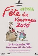 Carte Postale BRETECHER Claire Fête Des Vendanges Paris Montmartre 2010 - Postkaarten