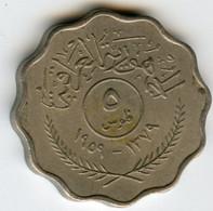 Iraq 5 Fils 1959 KM 120 - Iraq
