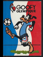 France Postcard 1980 Moscow Olympic Games - Goofy The Mascot Of The French Team In Their Colours - Walt Disney - Sommer 1980: Moskau