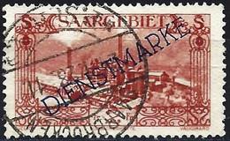 Saar 1927 - Mi D 21 - YT S 26 ( Official : Burbach Steelworks ) - Servizio