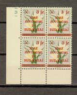 Zuid-Kasai Ocb Nr : 8 - V ** MNH  (zie Scan) Sans Et Avec Un Point Sur Le I 2 Timbres - South-Kasaï