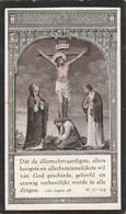 Maria Catharina Aerts-gheel 1892-1928 - Andachtsbilder