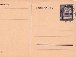 ENTIER POSTAL. REICH. 11.4.1944. 12c GENERALGOUVERNEMENT. WARSCHAU - Generalregierung