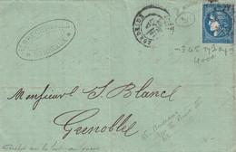 LETTRE. BORDEAUX 20c.      /  2 - 1849-1876: Klassik