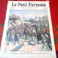 Le Petit Parisien N°834 Janvier 1905 Maroc Mission Française Fez,Forçats Pour Cayenne,Facteur Assailli Route De Presles - Le Petit Parisien
