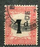 Union Of South Africa Postage Due, Südafrika Portomarken Mi# 2 Gestempelt/used - Segnatasse