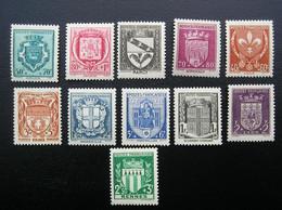 526-527-528-529-530-531-532-533-534-535-536  NEUF*  TB - Unused Stamps