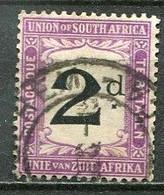 Union Of South Africa Postage Due, Südafrika Portomarken Mi# 3 Gestempelt/used - Segnatasse