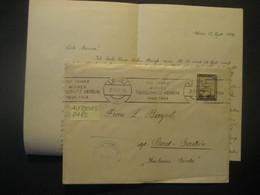 Österreich 1946- Zensur-Brief Mit Werbestempel Wiener Tierschutzverein Gelaufen Mit Mi. 747 Von Wien Nach Badgastein - 1945-60 Cartas