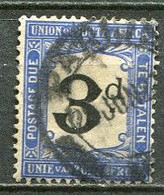 Union Of South Africa Postage Due, Südafrika Portomarken Mi# 4 Gestempelt/used - Segnatasse