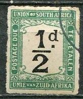 Union Of South Africa Postage Due, Südafrika Portomarken Mi# 8 Gestempelt/used - Segnatasse
