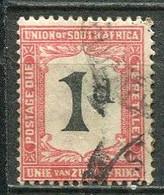 Union Of South Africa Postage Due, Südafrika Portomarken Mi# 12  Gestempelt/used - Segnatasse