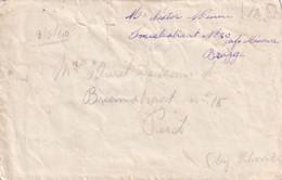 DDY 402 -- Enveloppe Avec TB Texte - BRUGGE 13 Mai 1940 Vers PERCK Vilvoorde - Campagne Des 18 Jours (10 Au 28 Mai) - Covers