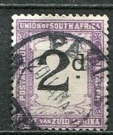 Union Of South Africa Postage Due, Südafrika Portomarken Mi# 14  Gestempelt/used - Segnatasse