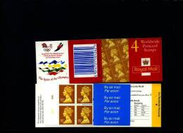 GREAT BRITAIN - £. 1.40  (Walsall) ELLIPTICAL  OLYMPIC  BOOKLET MINT NH  GK 7 - Booklets